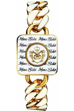 Marc Ecko E10557L1 Unisex Three Hand Analogue movement Dial with Crest Emblem Polished & Case & Bracelet