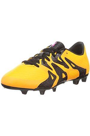 adidas X 15.3 Fg/ag Junior Fußballschuhe, Unisex Kids' Footbal Shoes, Orange (Solar /schwarz/shock )