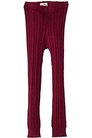 BAND OF OUTSIDERS Girls Cable Knit Tights-Wine Tights