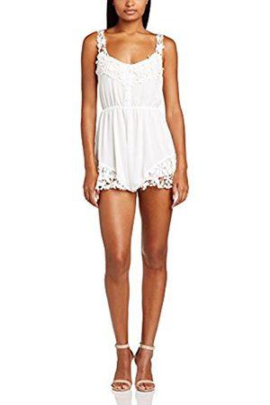 Cheap Many Kinds Of Womens Playsuit Crochet Trim Plain Sleeveless Dress Reverse Cheap Real Finishline rnzcs39