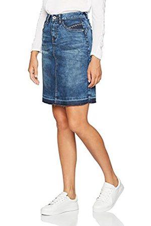 Cream & Co. Cream Women's Patched Denim Skirt