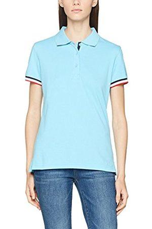 CLIQUE Women's Newton Ladies Polo Shirt, (Sky )