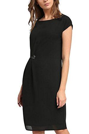 APART Fashion Women's Taupe- -Print Dress