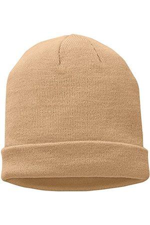 MSTRDS Short Pastel Cuff Knit Beanie Hat