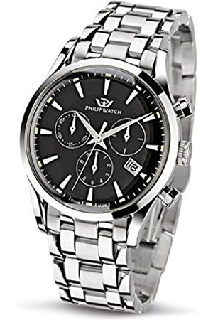 Philip Watch Philip Sunray Men's Quartz Watch with Dial Chronograph Display and Stainless Steel Strap R8273908165