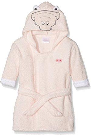 "Floris van Bommel Baby Girls Bathrobe ""Crocodile"", (rosa)"