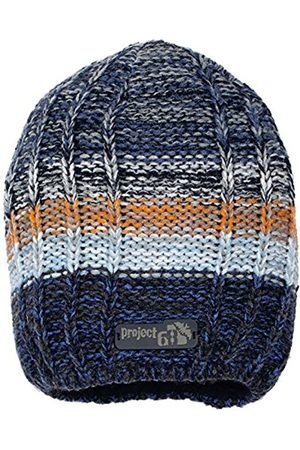 Catarina Martins Boy's Strickmütze Hat, -Blau (Marine 300)