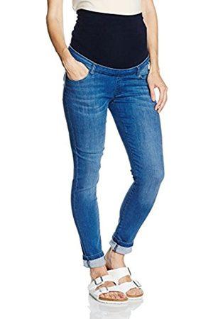 bellybutton Women's Jeans slim mit Überbauchbund Slim Maternity Jeans