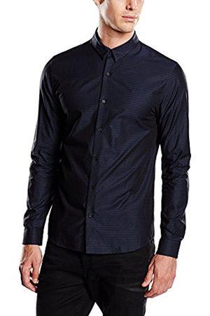 Calvin Klein Men's Normal Waist Classic Long sleeve Dress Shirt