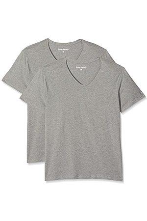 american honey Men's V-Shirt 2er Pack Pure Cotton Vest