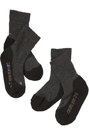 Camano Boy's Calf Socks, ( + Anthracite 05 )