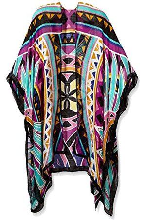 Pequignet Women's Ascpali Scarf, Multicoloured-Mehrfarbig (Multi Color XX)