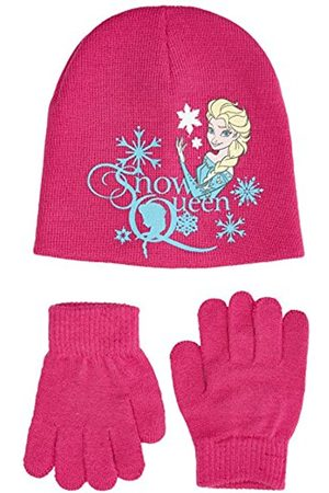 Disney Disney Girl's Frozen Hat & Gloves