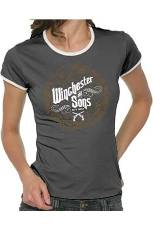 Jaded London Winchester and Sons Girlie Women's Ringer T-Shirt Size:S