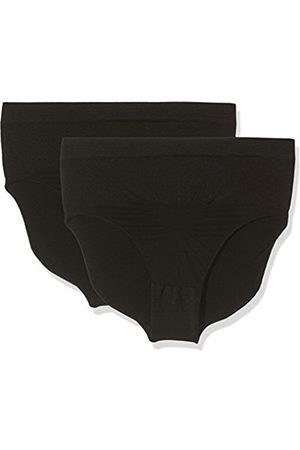 Womens Shape-Slip Blumendesign, Figurformend, Seamless Control Knickers Pack of 2 Belly Cloud