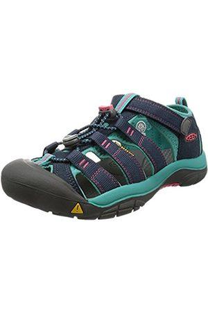 Keen Unisex Kids' Newport H2 Hiking Sandals, Midnight Navy/Baltic