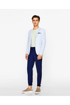 Men Blazers - Zara PIQUÉ BLAZER - Available in more colours