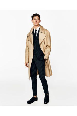 Zara CLASSIC STRIPED SUIT BLAZER
