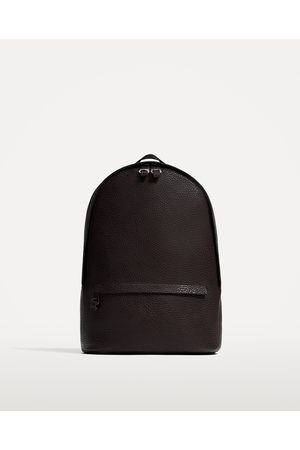 Zara EMBOSSED BACKPACK