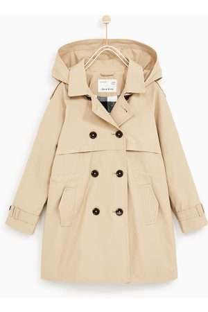 Zara BASIC TRENCH COAT WITH HOOD - Available in more colours
