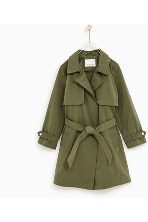 Zara LOOSE-FIT TRENCH COAT