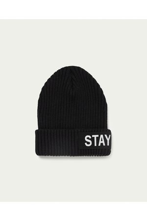 Zara RIBBED SLOGAN HAT