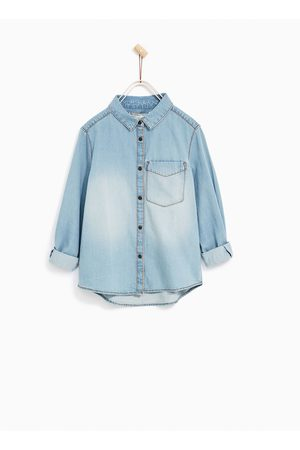 Zara BASICA DENIM SHIRT