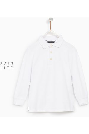 Zara LONG SLEEVE PIQUÉ POLO SHIRT - Available in more colours