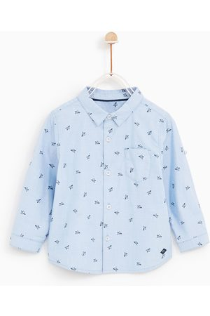 Zara PRINTED SHIRT WITH ROLL-UP SLEEVES - Available in more colours