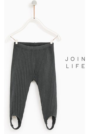 f398fecdf7d66 Girls; Trousers; Zara. Zara RIBBED EQUESTRIAN-STYLE LEGGINGS - Available in  more colours