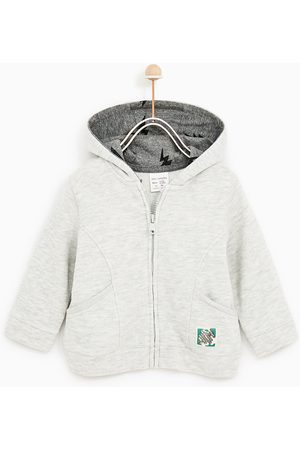 Zara BASIC PLUSH JERSEY SWEATSHIRT WITH HOOD - Available in more colours