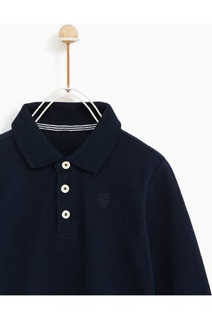 Zara BASIC LONG SLEEVE POLO SHIRT - Available in more colours
