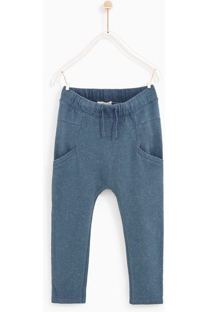 Zara EMBELLISHED PLUSH JERSEY TROUSERS - Available in more colours