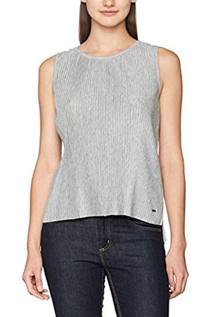 TOM TAILOR Women's Plissée S-Less Vest