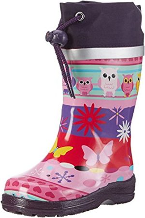 Beck Girls' Eule Rubber Boots multi-coloured Size: 10 Child UK