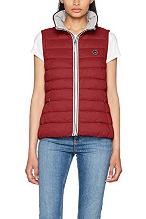 120% Cashmere Women's 077cc1h002 Outdoor vest, (Dark 610)