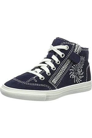 Perel Girls' Fedora High Top Trainers blue Size: 32