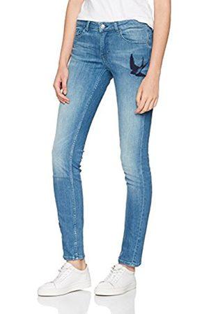 81 Hours by Dear Cashmere Women's Orange J20 Rienne 10200641 01 Straight Jeans
