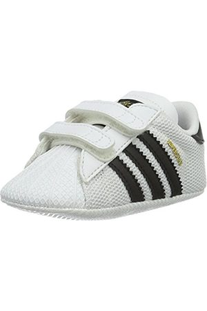 adidas Unisex Babies' Superstar Crib Gymnastics Shoes, 18 EU