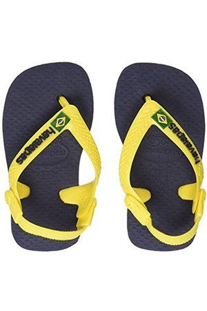 Havaianas Baby Brasil Logo, Unisex Baby Flip Flops