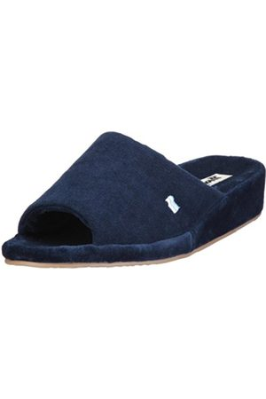 Romika Mens Bologna Slippers Blau (marine 503) Size: 46 EU (11 Herren UK)