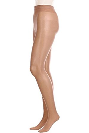 GLAMORY Women's Ouvert Tights, 20 Den, Braun (make Up)