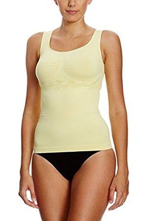 Belly cloud Women's Stützhemdchen Lilie, Figurformend, Seamless Shapewear Top