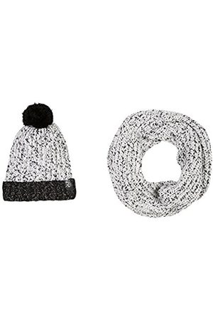 B-KARO Girl's F Brooklyn Heights Scarf, Hat and Glove Set