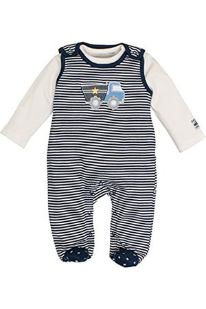 SALT AND PEPPER Baby Boys' NB Playsuit Fun Time Stripe Footies