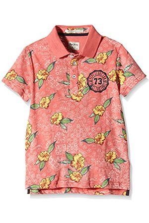Pepe Jeans Boy's Floral Polo Shirt - Multicoloured - 14 Years