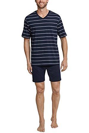 Schiesser Men's Anzug Kurz Pyjama Set