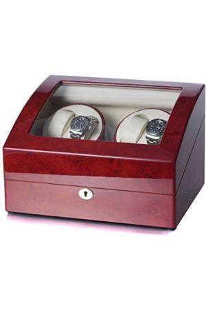 Raoul U.Braun Raoul U 1002323002 Watch Winder (Watch Rotator) Swing for 4+5 Watches Root Wood/Cream