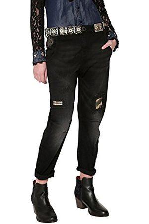 Desigual Women's Denim_camel Friend Boyfriend Jeans