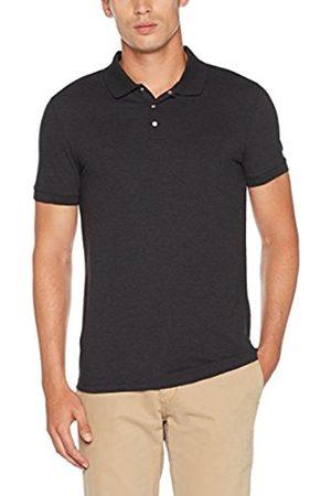 Selected HOMME Men's Shddamon Melange Ss Noos Polo Shirt